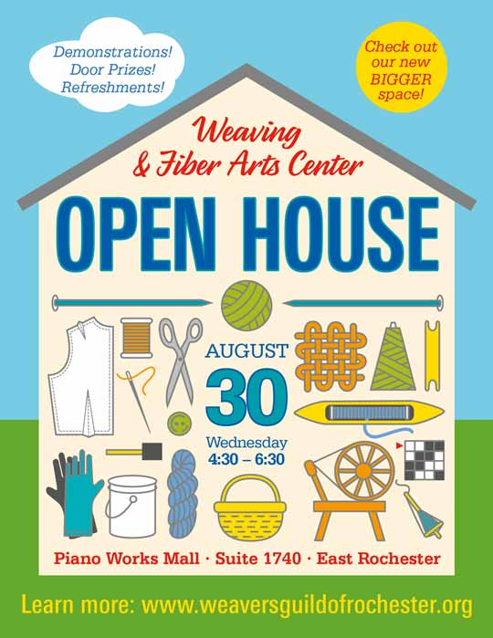 WaFAC Open House Poster