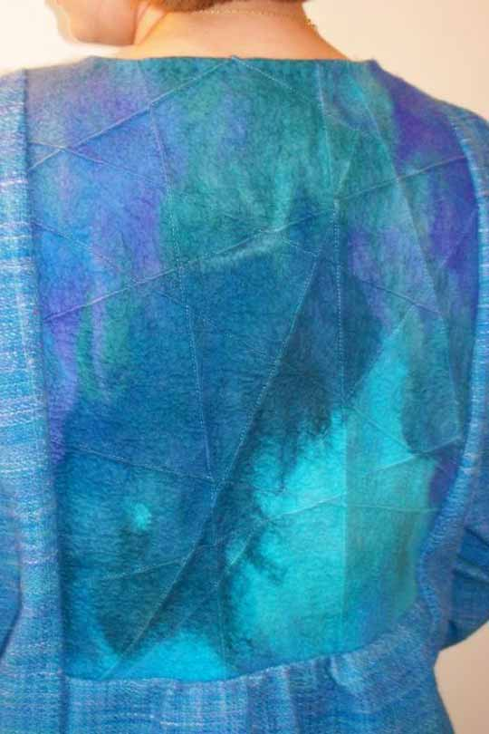 Felted and Woven Garment by Joan Berner