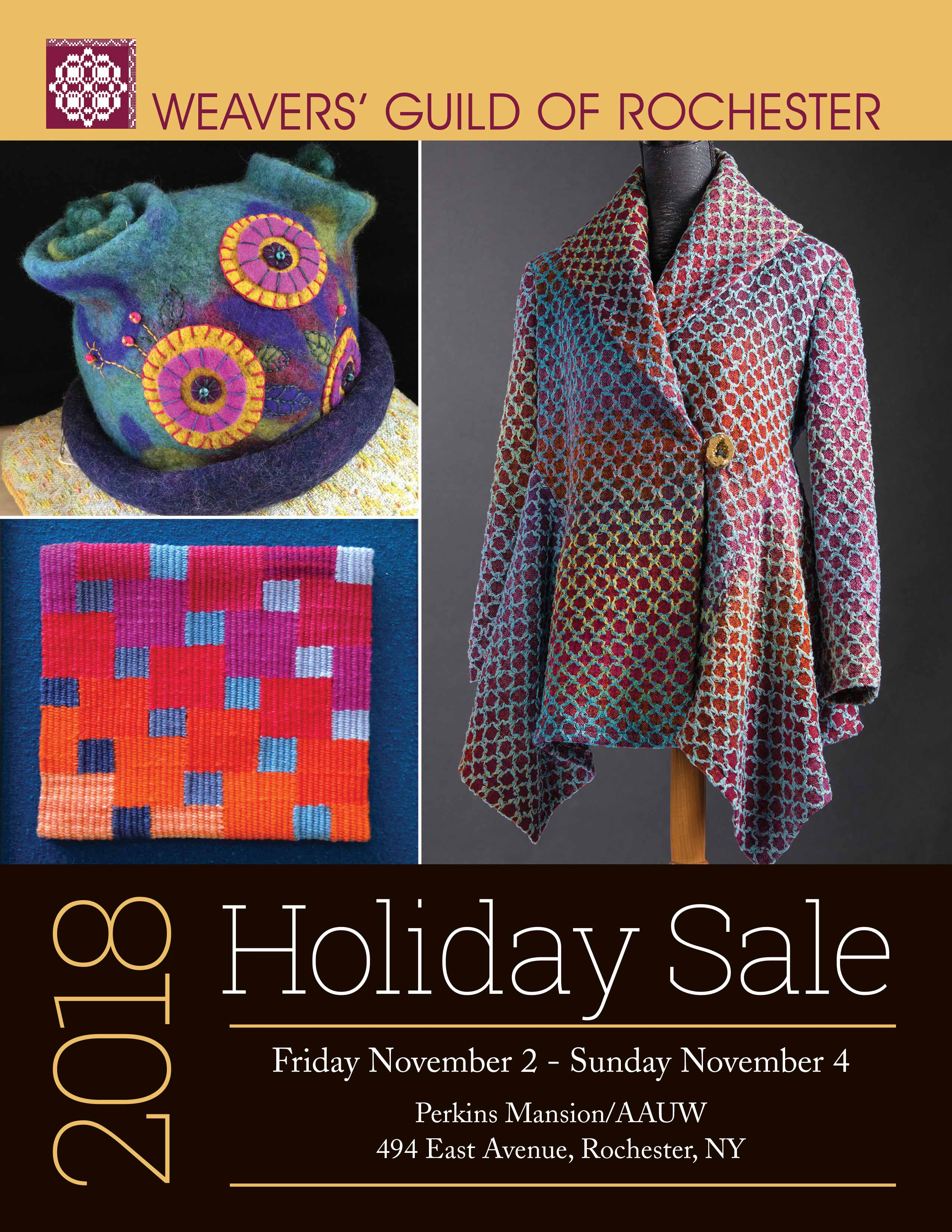 2018 Holiday Sale poster